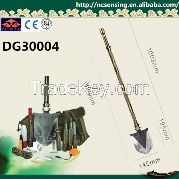 High quality multifunctional portable camping shovel