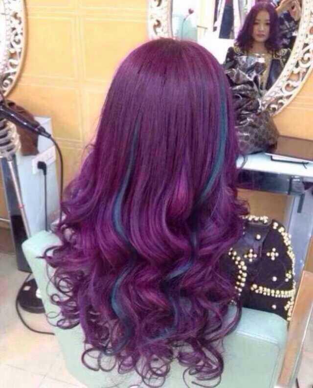 Colorace acid clinic keratin color hair manicure
