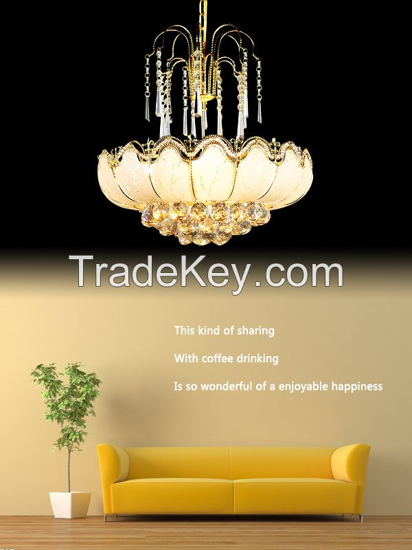 GKC0061 Width 500mm Giking Lighting Good Quality Crystal Chandelier Lamps