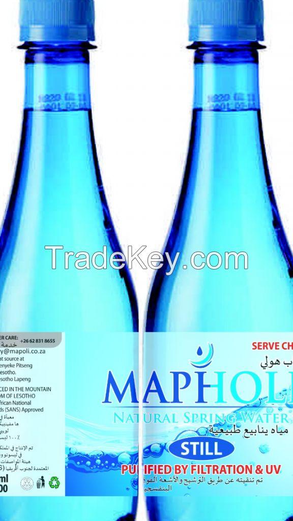 Mapholi Natural Spring Water