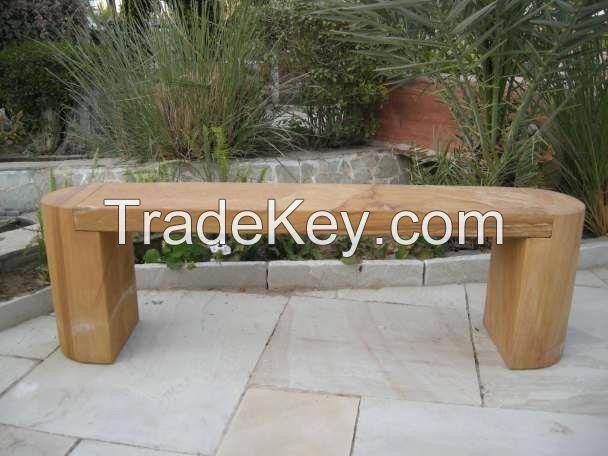 Strata Stones Bench - Rainbow - Bootes