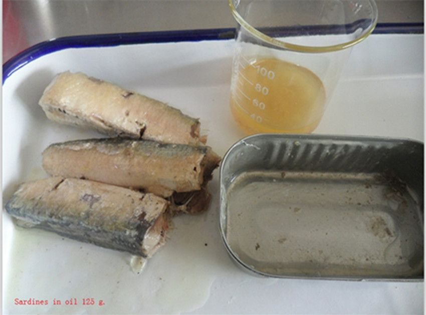 Canned tuna, canned sardines, canned mackerel of Chinese origin