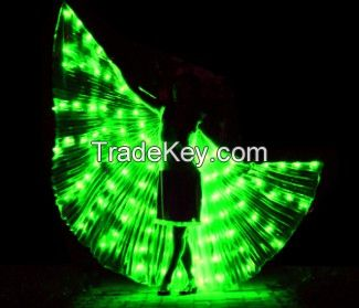 LED Wings of Isis Belly Dance Party
