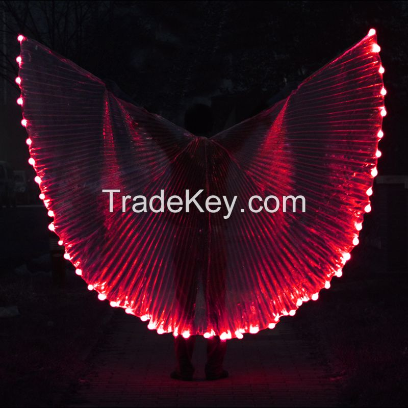 LED Wings Solid Color Light Show