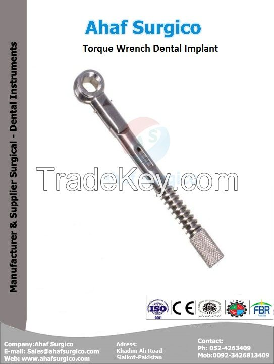 Torque Wrench Dental Implant