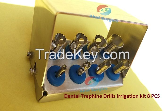 Dental Trephine Drills Irrigation kit Implant set