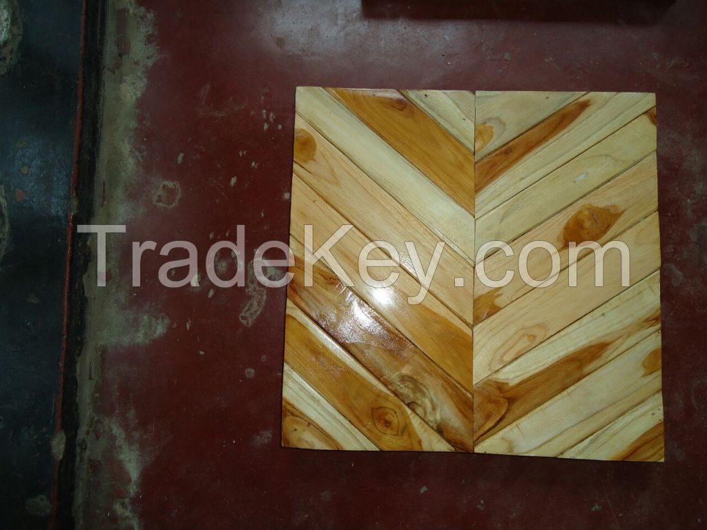 Teak Wooden Flooring and Roofing