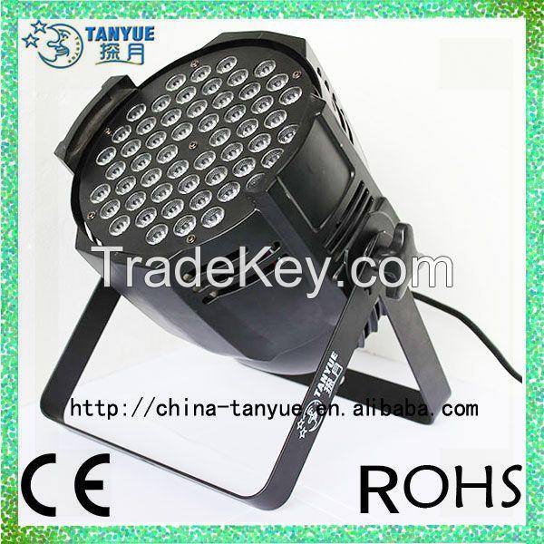 54pcs 3W led aluminum par light