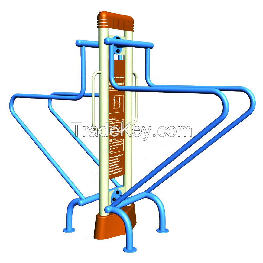 Basketball stands  Outdoor fitness equipment Children's slide