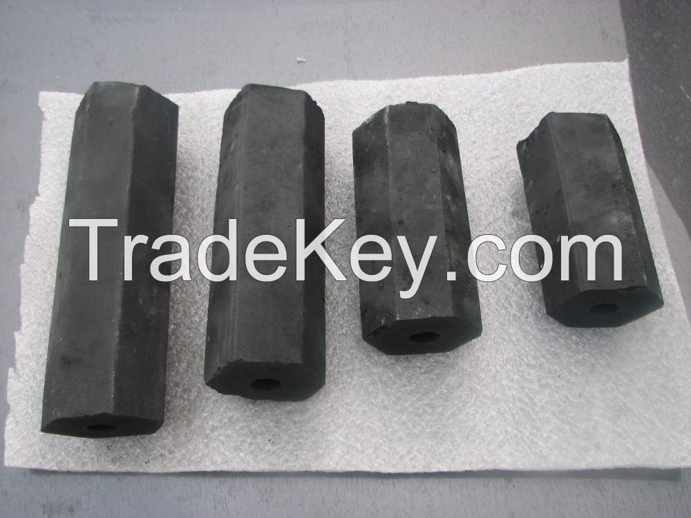 We sell charcoal briquettes at wholesale