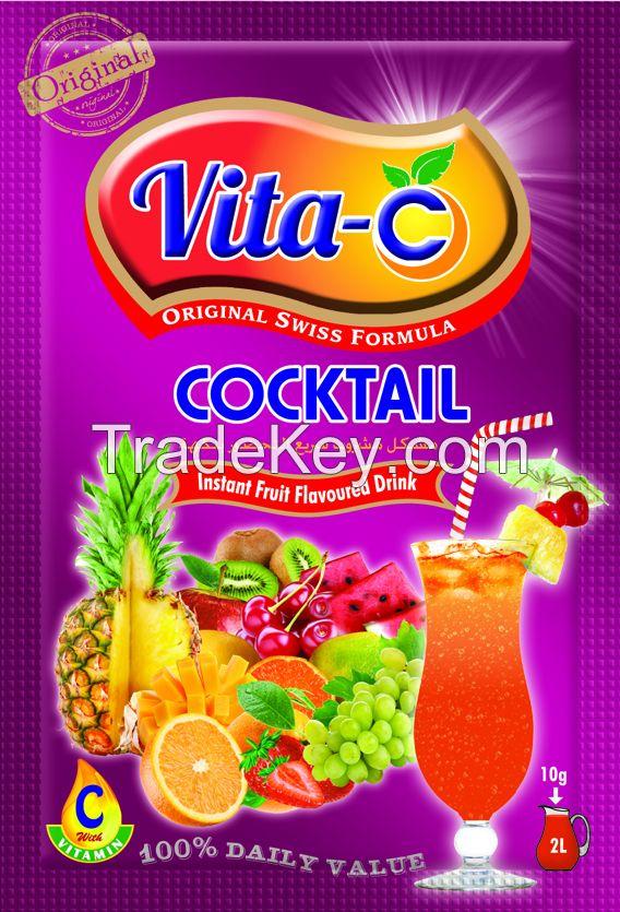 Vita-C instant Drink Powder Juice