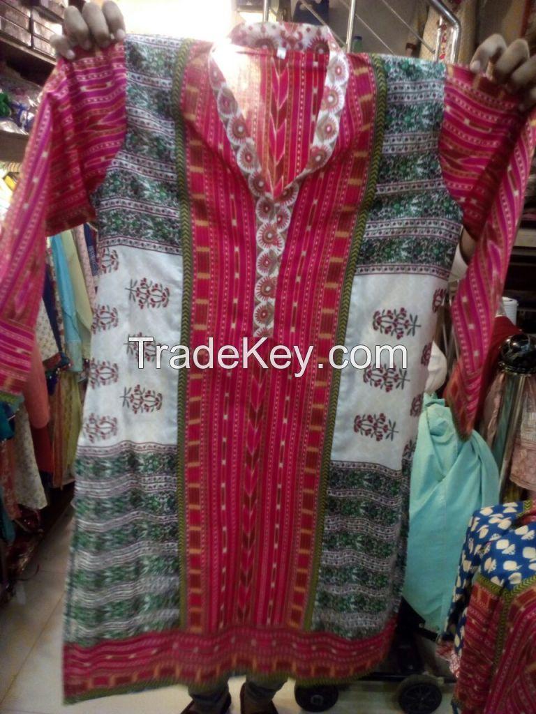 Printed Branded Fabric Kurti