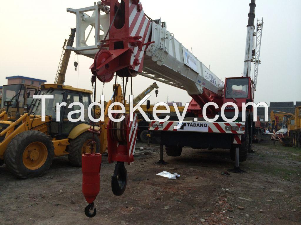 TADANO TR500EX off-road crane 50 tones