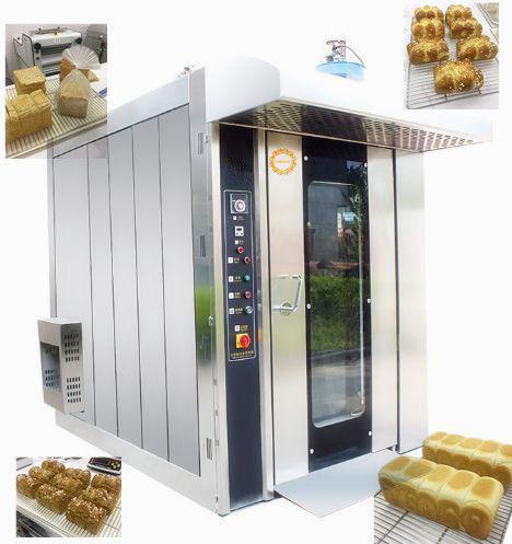 Bread bakery rotary rack oven  32 trays /64 trays