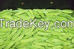 snow peas and sugar snaps