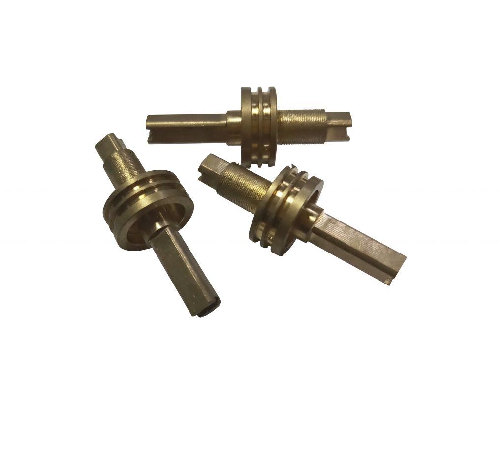 Custom Non-Standard CNC Machining Part aluminum metal gold plating