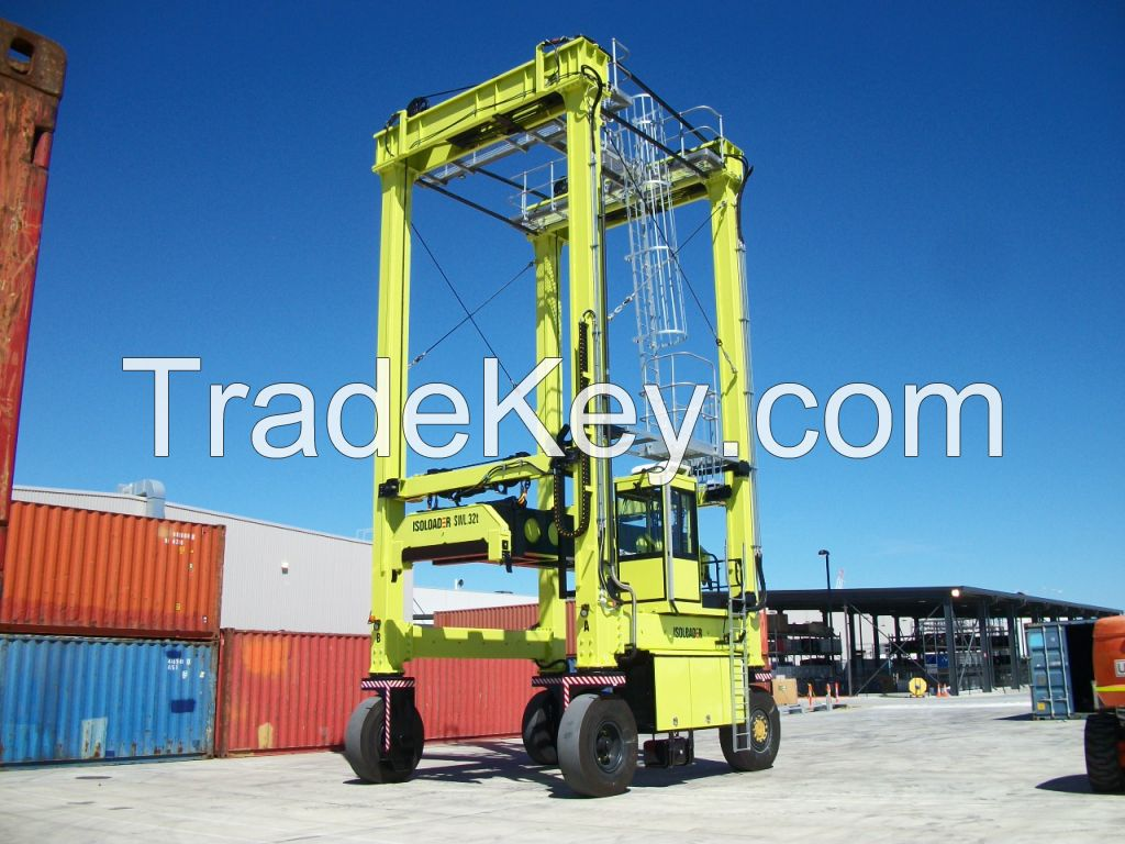 Isoloader Econolifter Container Handling Straddle Carrier