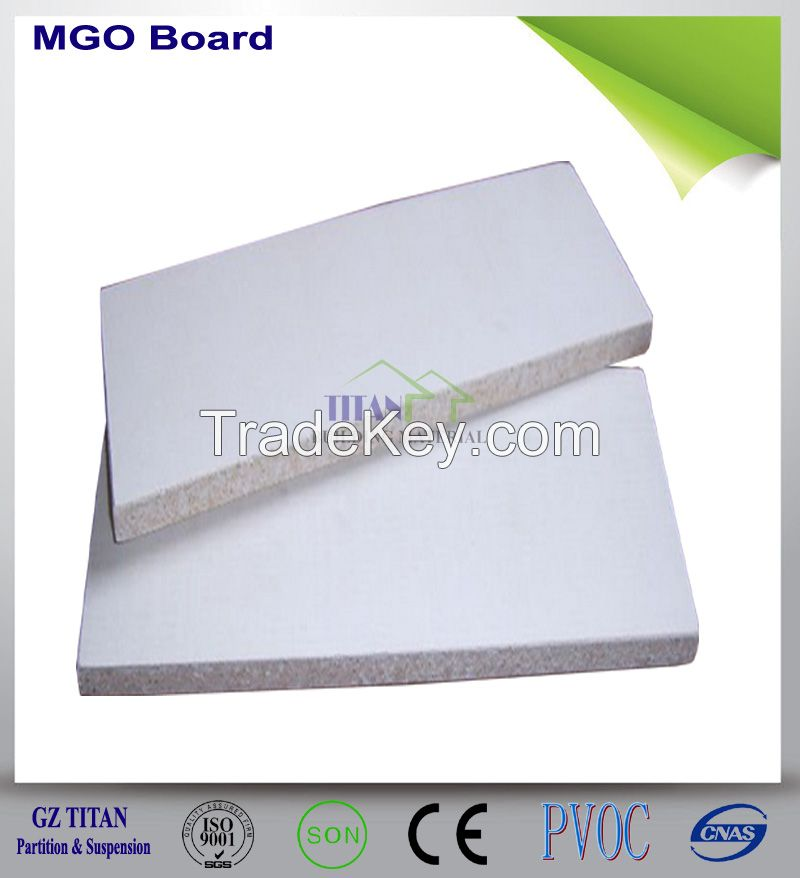 Heat Insulation Magnesium Oxide MGO Board 8mm