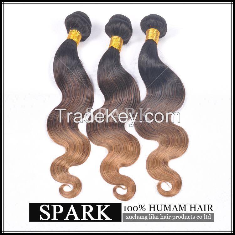 ombre virgin human hair