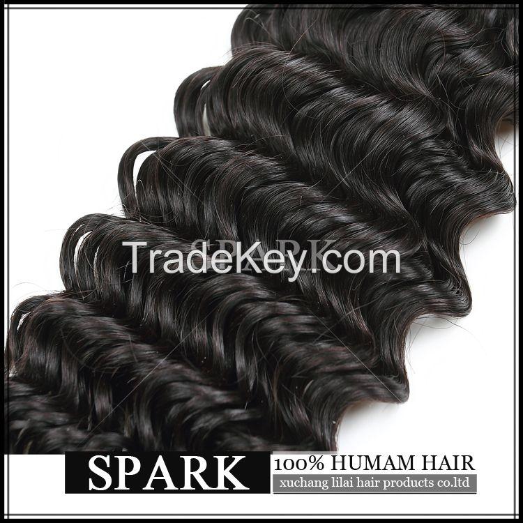 deep wave virgin human hair