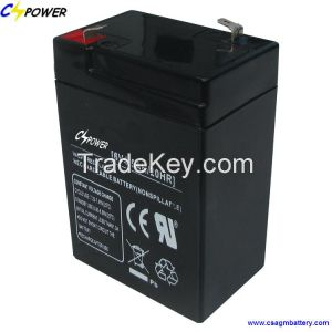6v 4.5ah rechargeable lead acid battery for charger