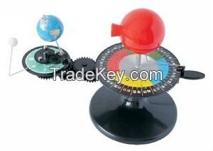 Three globes model  Sun-Earth-Moon model-Geography Model