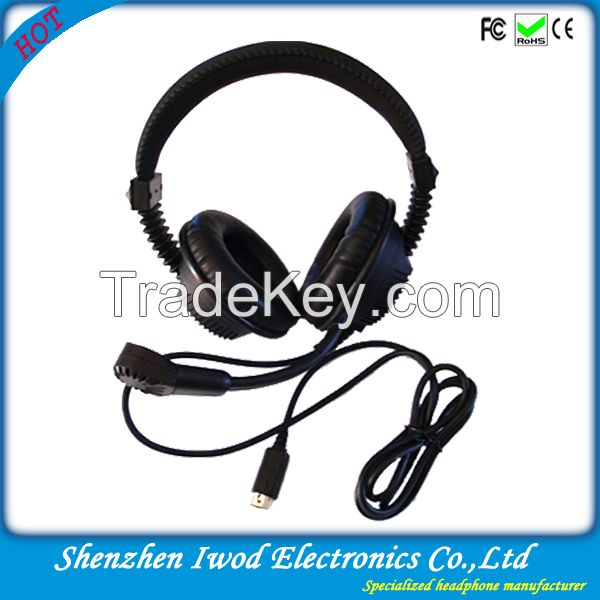 Newest global best selling professional language lab headphones used for language learning
