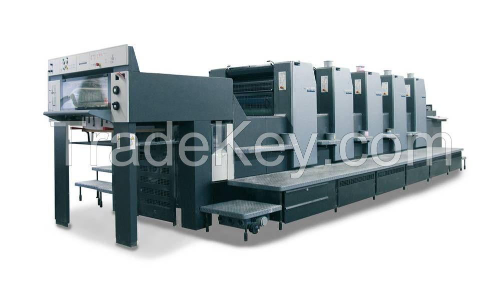 For sale Used Heidelberg SM 102 V , SM 72 V Offset printing machine