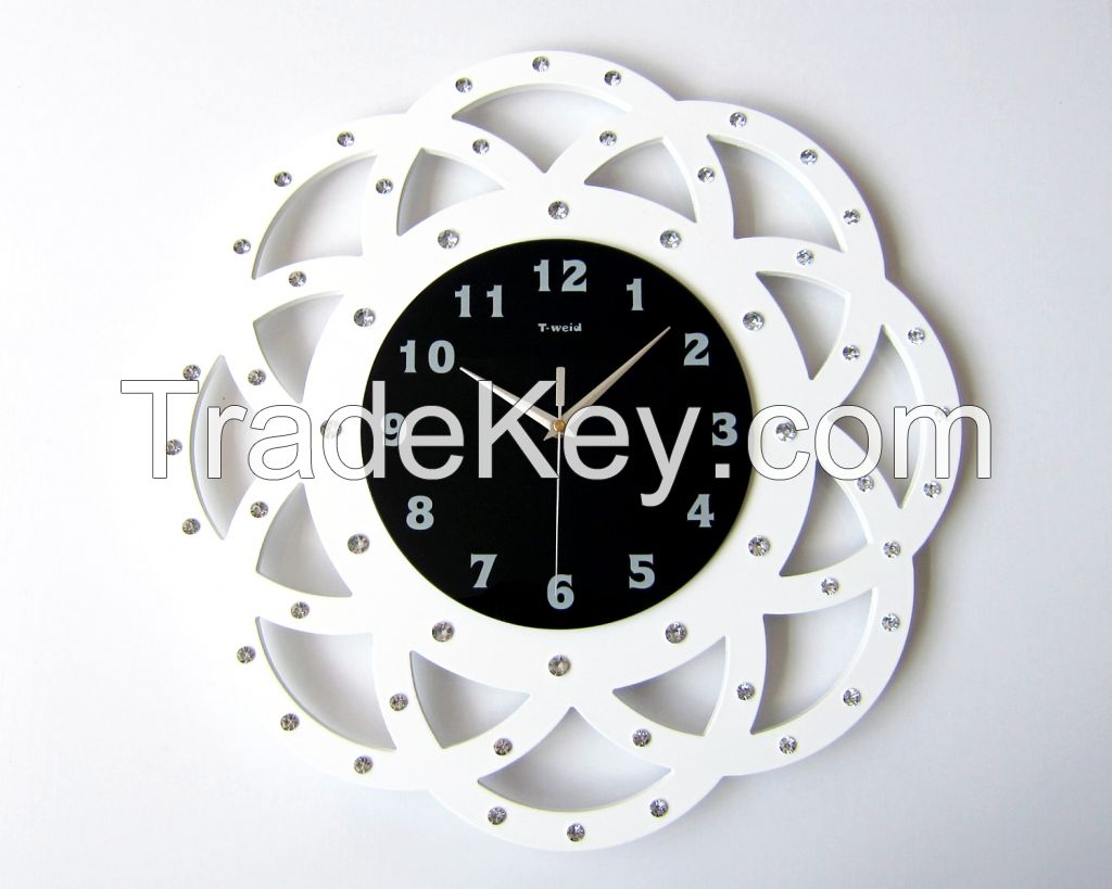 Craft wall clock
