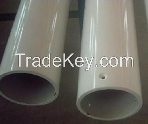 Aluminum extrusion pipe