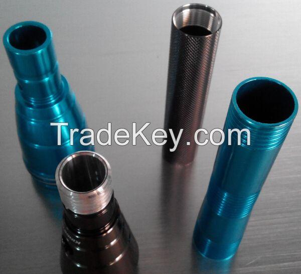 aluminium tube for torch light
