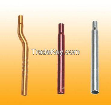 Aluminium necking pipe