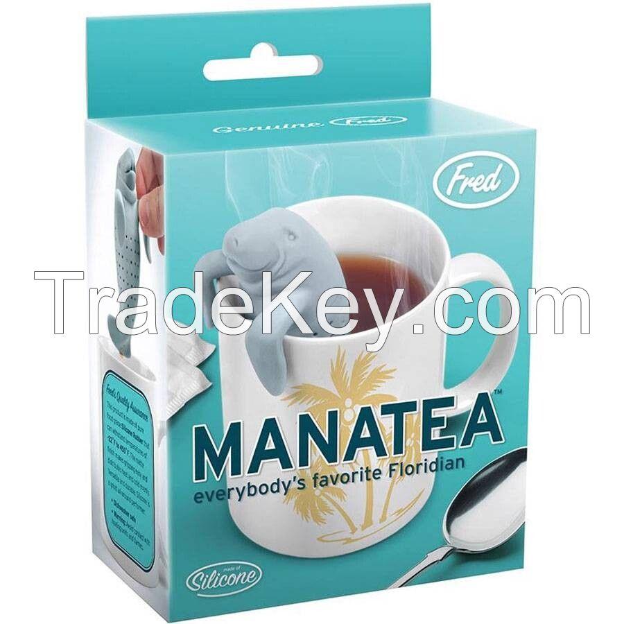 Wholesale silicone Manatee tea infuser