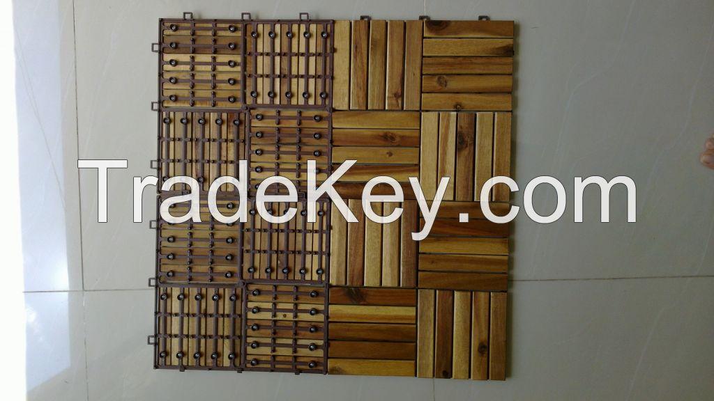 wooden decking tile