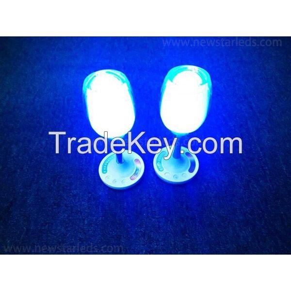 RGBW LED Wine Glass Light