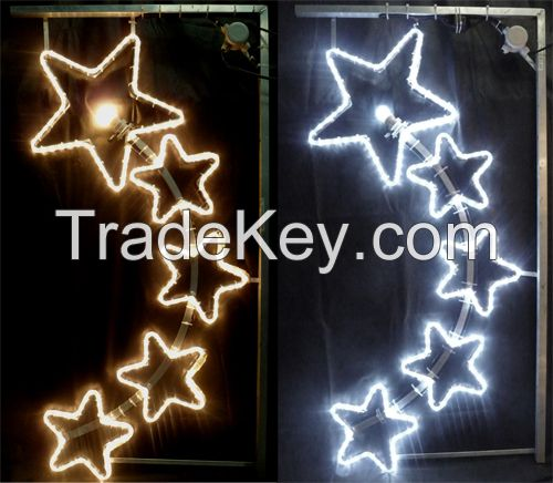 LED new year motif rope light /LED street decoration/street motif