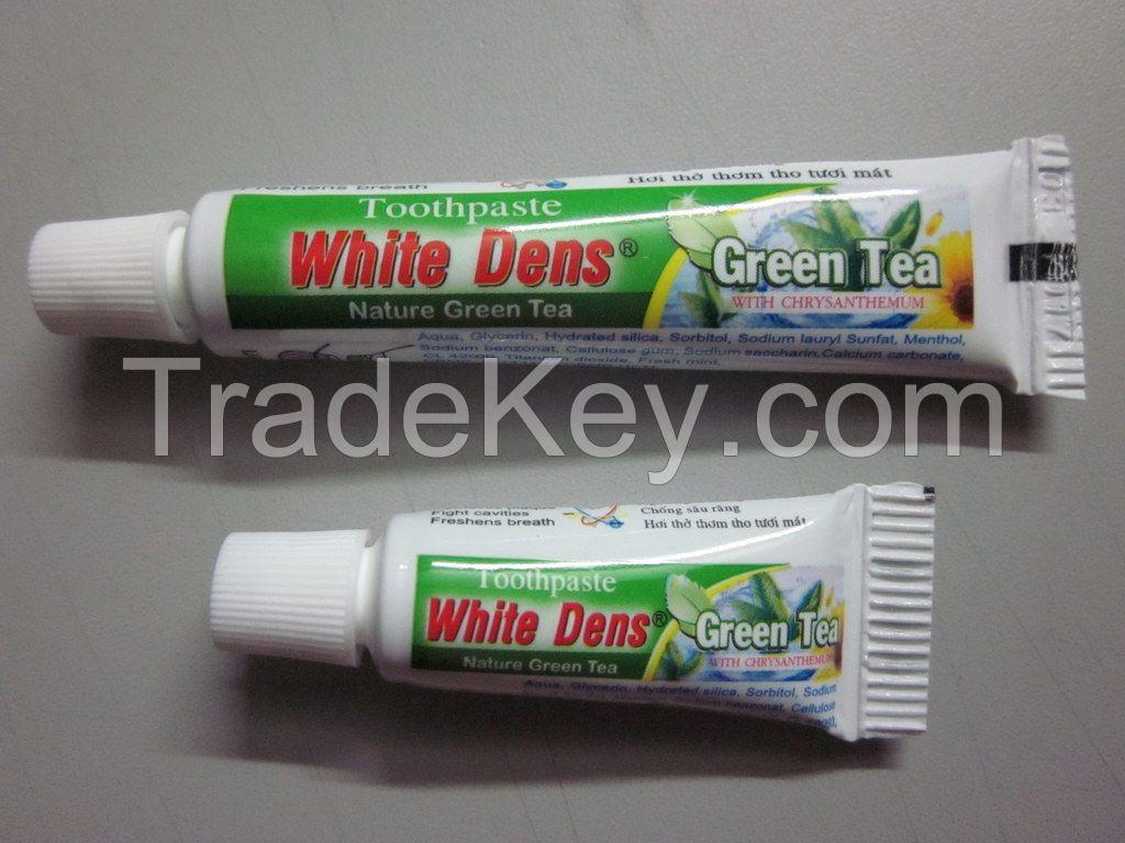 White Dens Green Tea