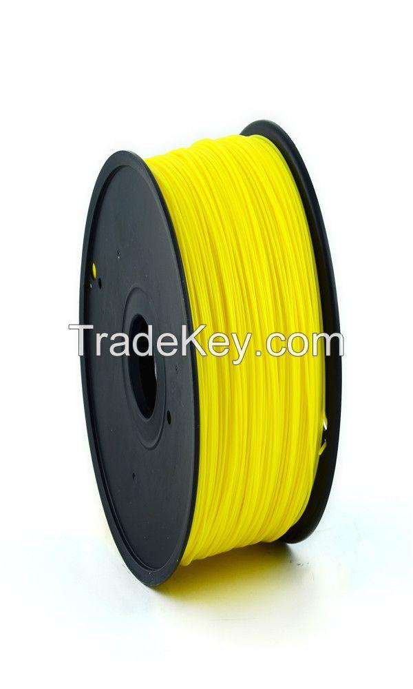 3D Printer filament ABS PLA HIPS Nylon Wood Flexible
