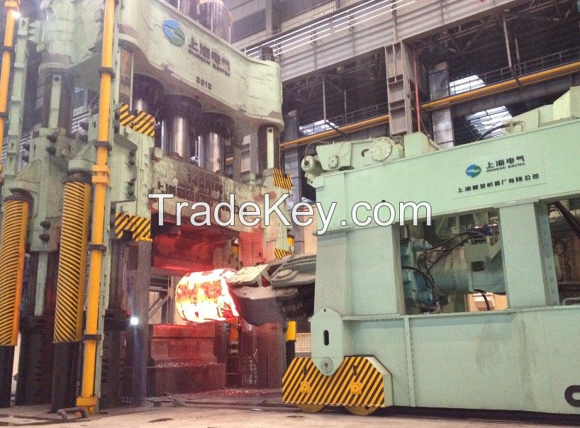 16Mn Heavy Hook forging, used for ship machinery