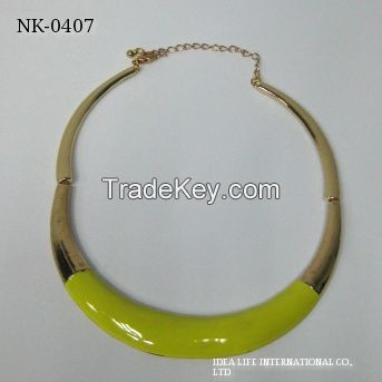 gold plating necklace