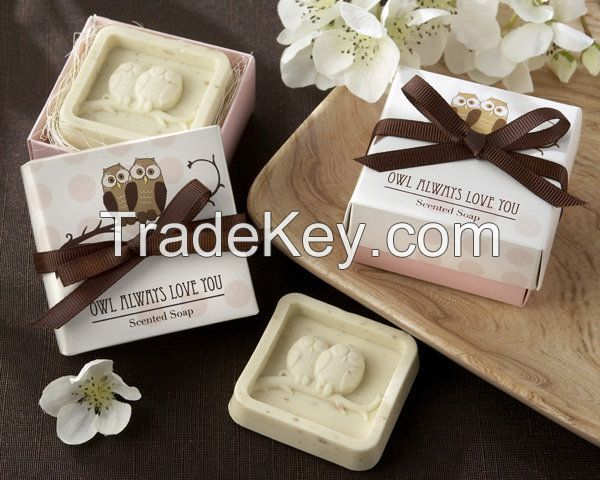 Mini Scented Handmake Soap wedding party gift Soap As Bath Set or Gift