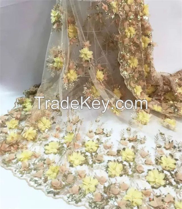 Diamond lace fabric, Sequins lace fabric. special lace fabric