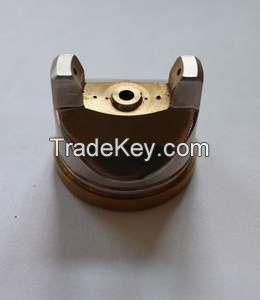 Air cap/ brass precision parts/ custom precision parts/ CNC machining parts/ pneumatic tools parts