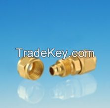 Union Connector / machined threaded brass/ quick connector