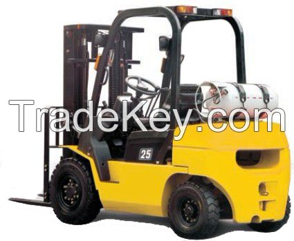 Gasoline forklift for warehouse