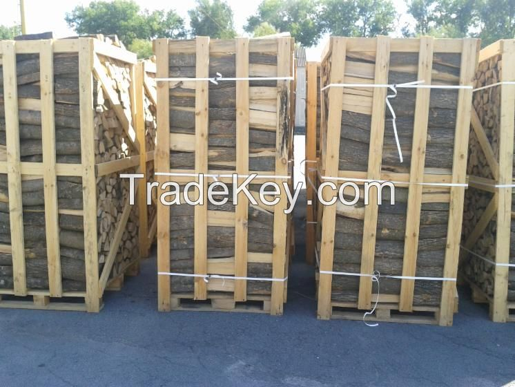 Dried Firewood/Brennholz in Pallet 2m3