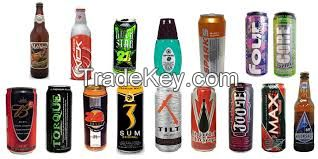 Assorted Energy Drinks