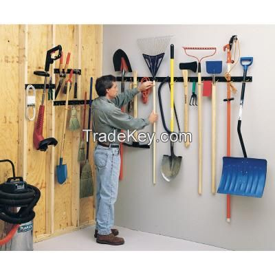 storage bins and tools hooks