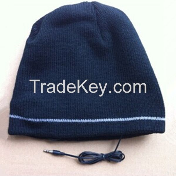 Winter Beanie Cap With Headphone