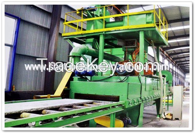 China good service roller pass through type shot blasting machine